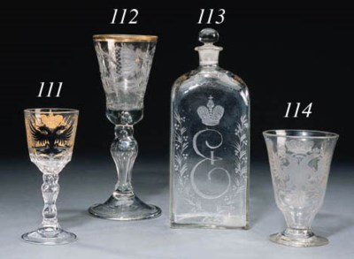 A glass Goblet