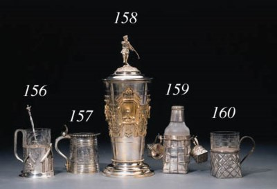 A silver trompe-l'oeil Tea-gla