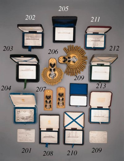 A silver naval commemorative P