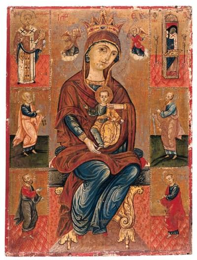 Mother of God Nekopiotisa and