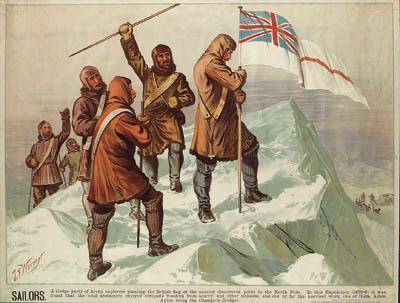 BRITISH ARCTIC EXPEDITION 1875