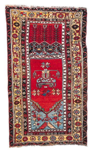 A LADIK PRAYER RUG