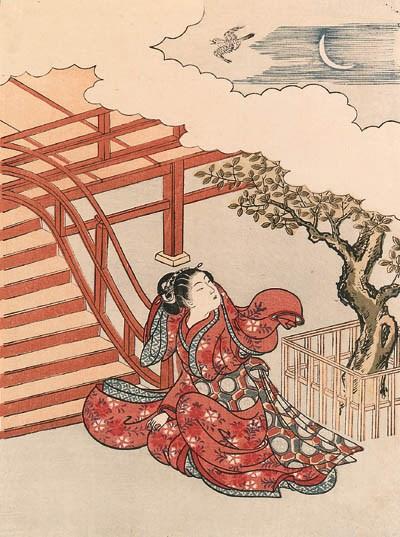 HARUNOBU (1724-1770):  chuban