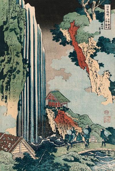 HOKUSAI (1760-1849):  oban tat