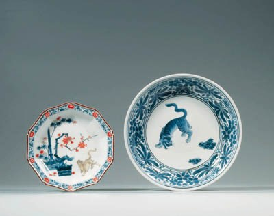 TWO KAKIEMON-STYLE DISHES