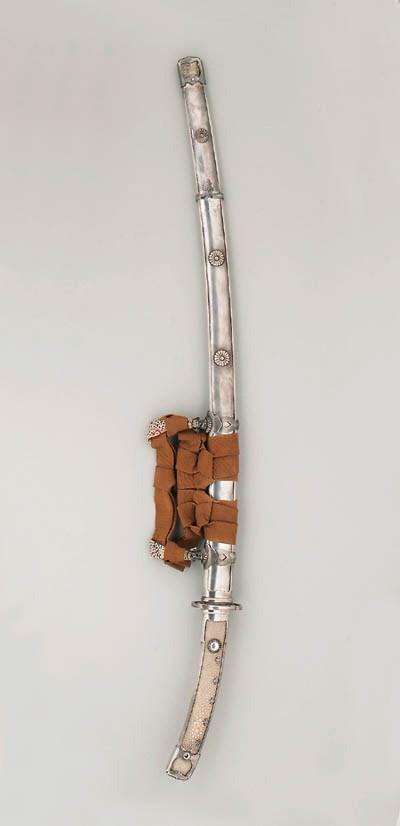A Silver Mounted Ko-dachi