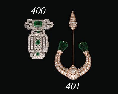 A Diamond, Emerald and Onyx La