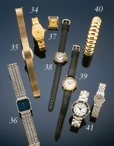Cartier.  A lady's 18 carat go