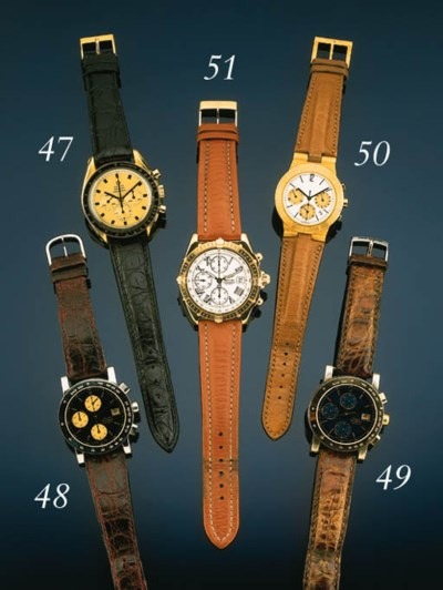 Omega. A gold water resistant