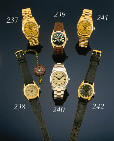 Rolex.  A good stainless steel
