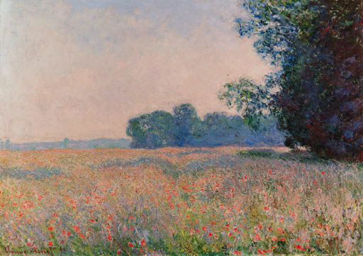 Claude Monet (1840-1926) | Champ d\'avoine | Christie\'s