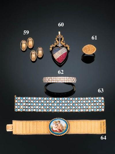 A 19th Century Diamond and Pea