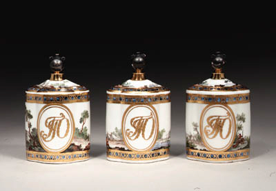 A porcelain Scent-bottle from