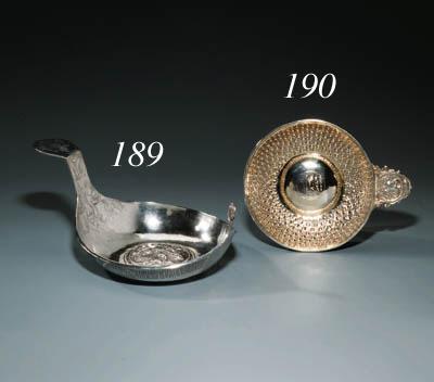 A silver Imperial presentation