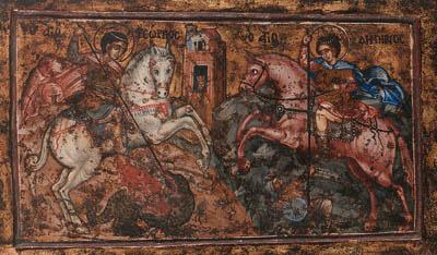 Saints George and Demetrios