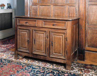 A French provinal oak buffet,