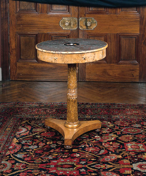 A German centre table, 19th ce