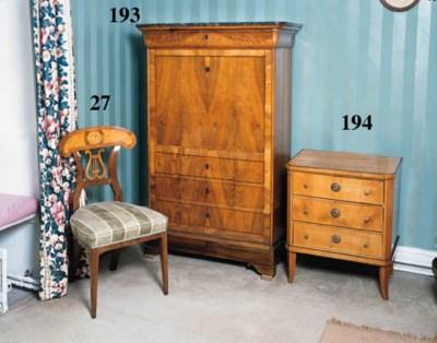 A Louis Philippe walnut secret