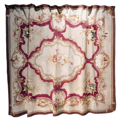 An Aubusson carpet