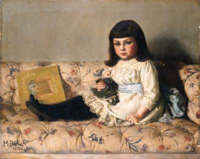 M. Drew, circa 1886