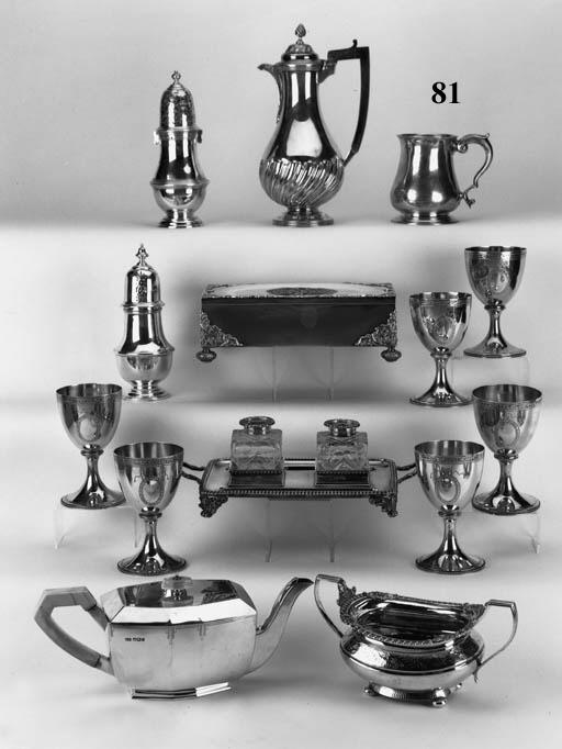 A George II mug of baluster fo