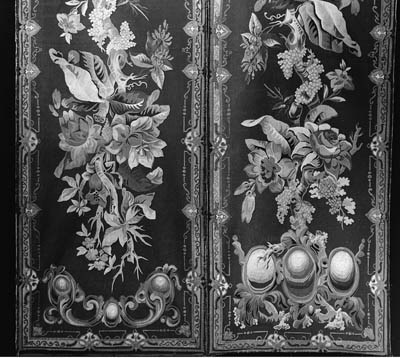 A pair of long Aubusson tapest