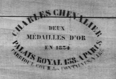 Charles Chevalier, Paris