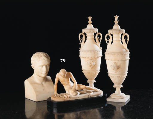 An Italian alabaster figure of