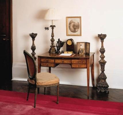 A Florentine giltwood altar ca