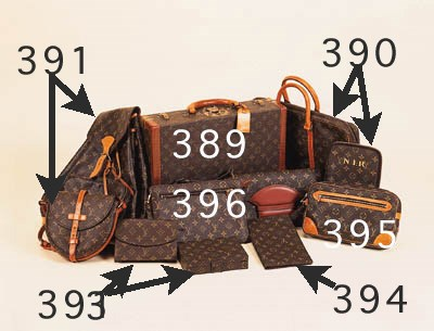 A Louis Vuitton briefcase, cov