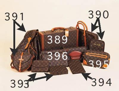 A Louis Vuitton handbag, with