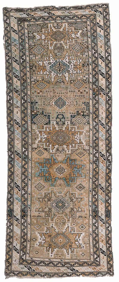 An antique Shirvan rug