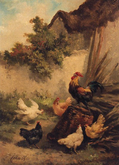 LOUIS MARIE LEMAIRE (1824-1910