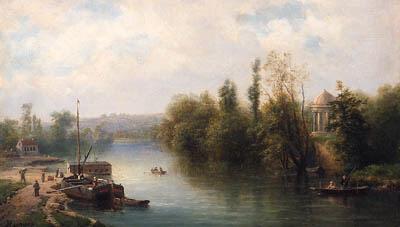 CLAUDE HUGARD DE LA TOUR (1818