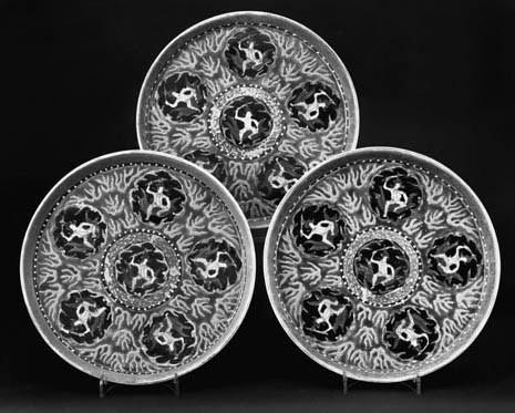 A set of three Chinese Thai ma