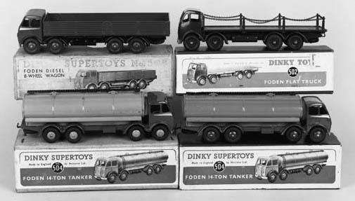 Dinky Foden Lorries