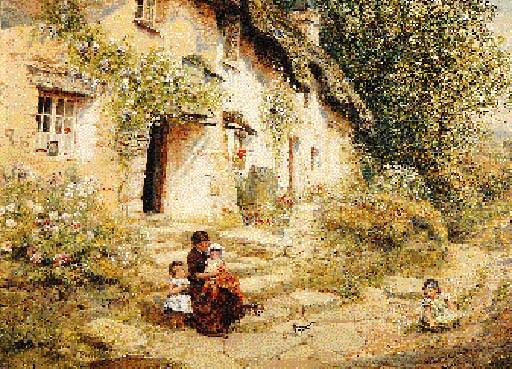 Etheline E. Dell (British, fl.