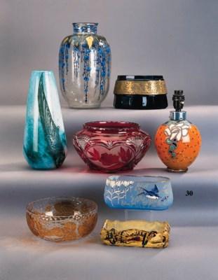 A Montjoye glass bowl