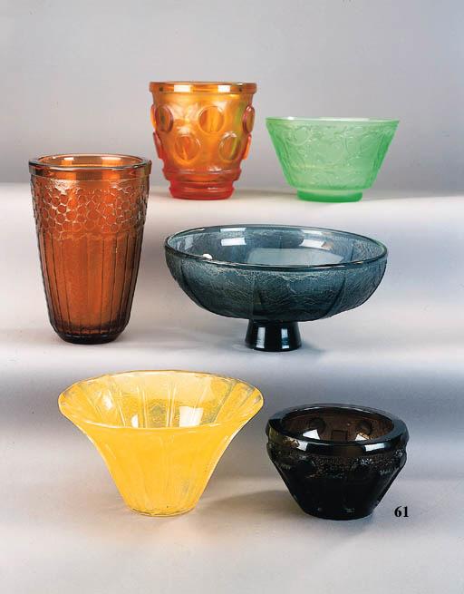 A Daum Art Deco vase