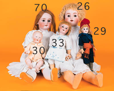 A French child doll