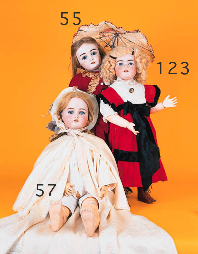 A bisque headed 146 child doll