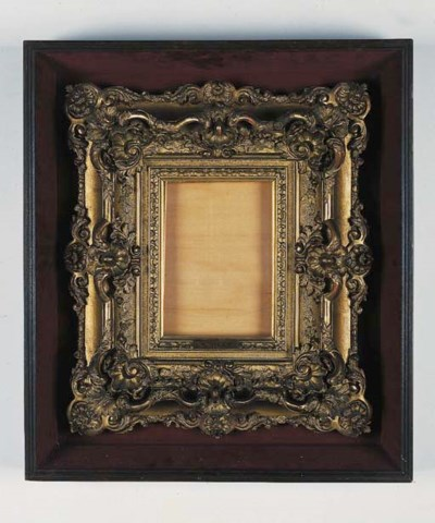 A French gilt composition swep