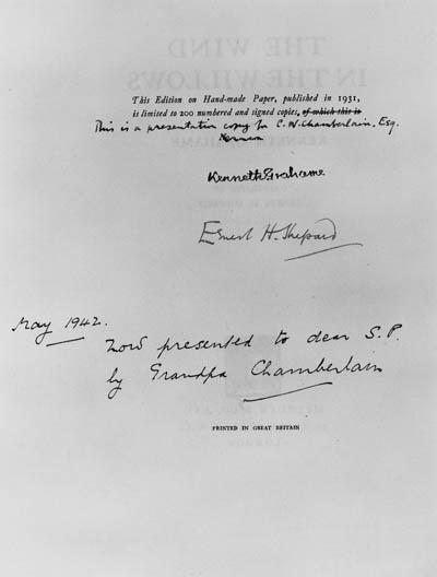 GRAHAME, Kenneth & E. H. SHEPA