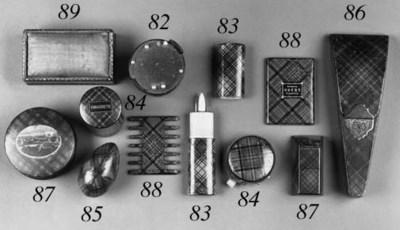 A selection of various Tartan