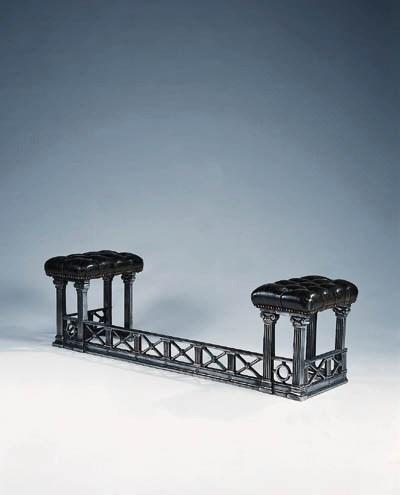 A polished cast steel club fen