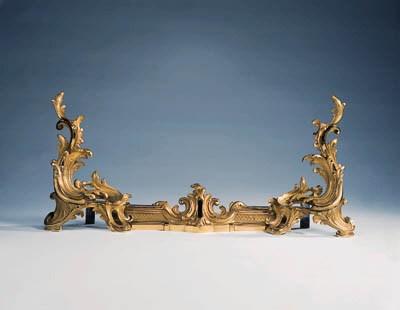 A Louis XV style gilt bronze f