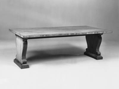 AN INDIAN LAUREL LIBRARY TABLE