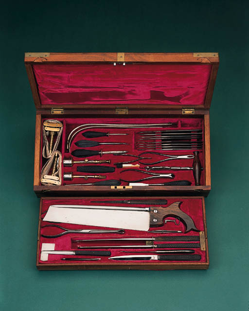 A fine 19th-Century surgeon's