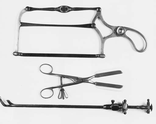 A bow saw by Arnold & Sons, Lo