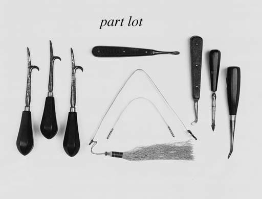 A collection of seven dental e